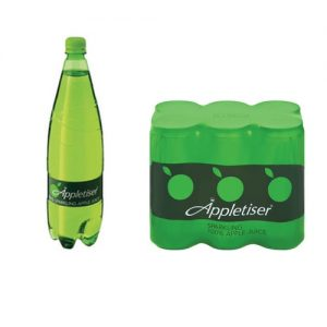 Appletiser Sparkling Apple 1,25L 330ml