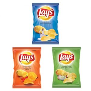 Lays Potato Chips Salt Vinegar 125g cheese CARIBBEAN ONION BALSAMIC VINEGAR PLAIN SALTED PREGO SOUR CREAM SPRING ONION CHEESE THAI SWEET CHILLI