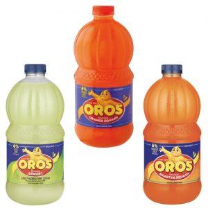 Oros Squash Orange 2L orange lemos naartjie