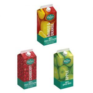 Rhodes Fruit Juice 2L APPLE CRANBERRY MANGO ORANGE RED GRAPE TROPICAL