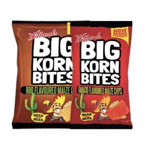Big Corn Bites Tomato 120g bbq barbecue