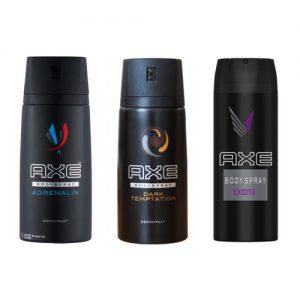 Axe Excite Body Spray Deodorant 150ml ADRENALIN BLACK DARK TEMPATION EXCITE