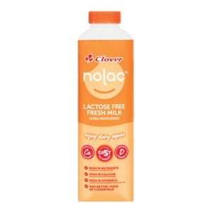 Clover Nolac Lactose Free Milk 1L