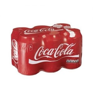 Coca-Cola Regular Can 300ml coke