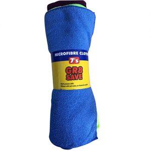 Gr8 Microfibre Cloths 7s