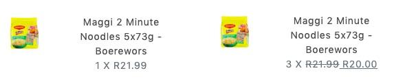 maggie 2 minute noodles bulk deal kwanu
