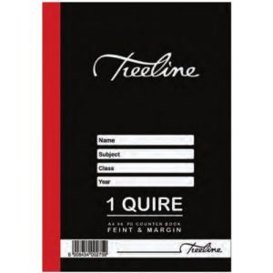 A4 1 Quire 96 page Hardcover Book